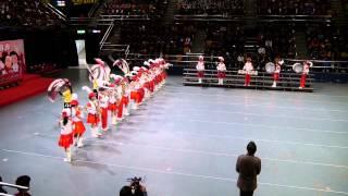 迦密唐賓南紀念中學銀樂隊,CYC周年大會2014表演錄影,