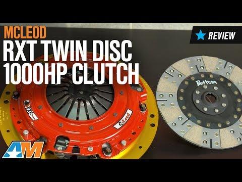2015-2017 Mustang (GT) McLeod RXT Twin Disc 1000HP Clutch Review