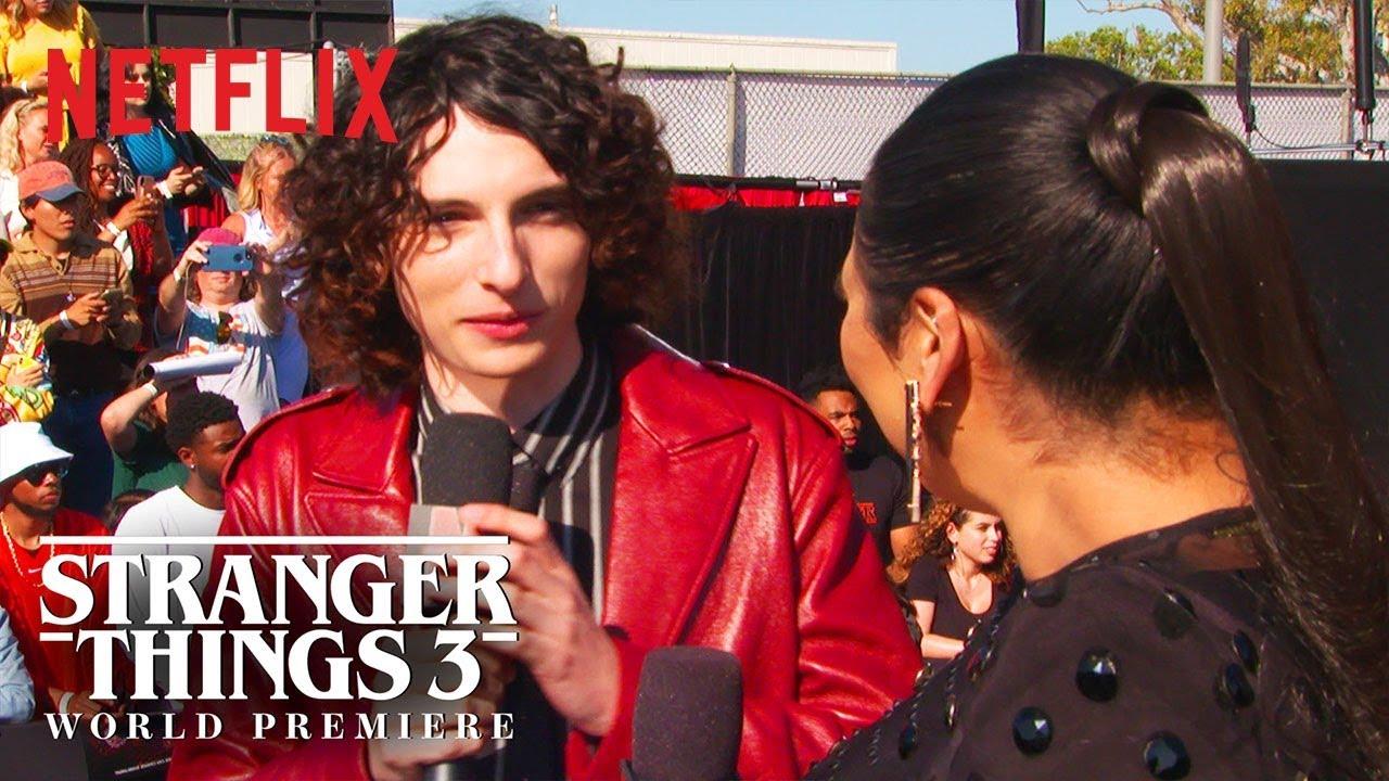 Finn Wolfhard | Stranger Things 3 Premiere | Netflix