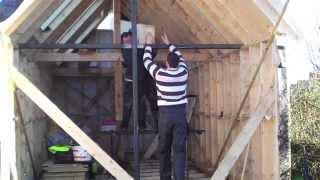 Как построить каркасный домик своими руками(Как построить каркасный домик своими руками- видео процесса строительства каркасного дома своими руками...., 2015-06-08T05:13:45.000Z)
