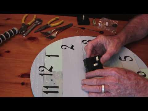 Replace a quartz clock movement