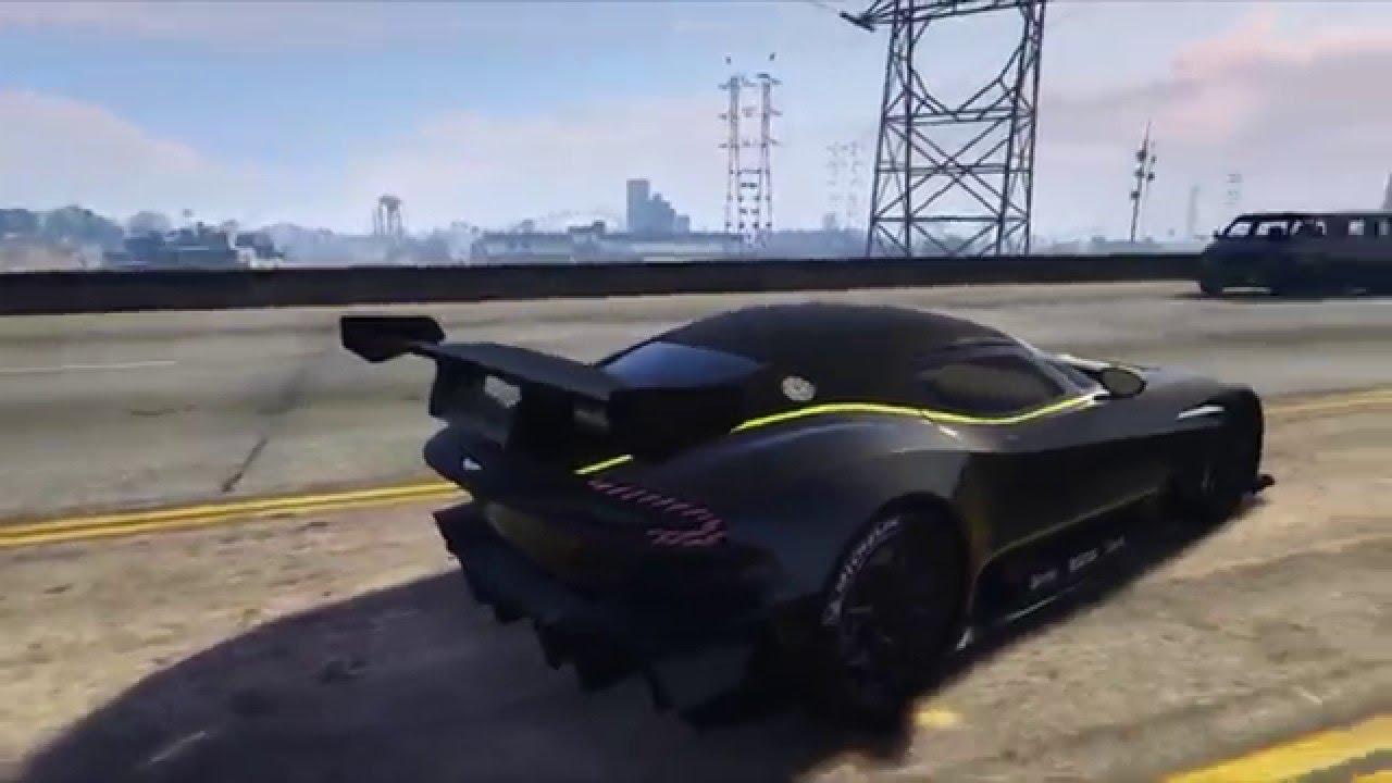 aston martin vulcan mod - gta 5 mods - youtube