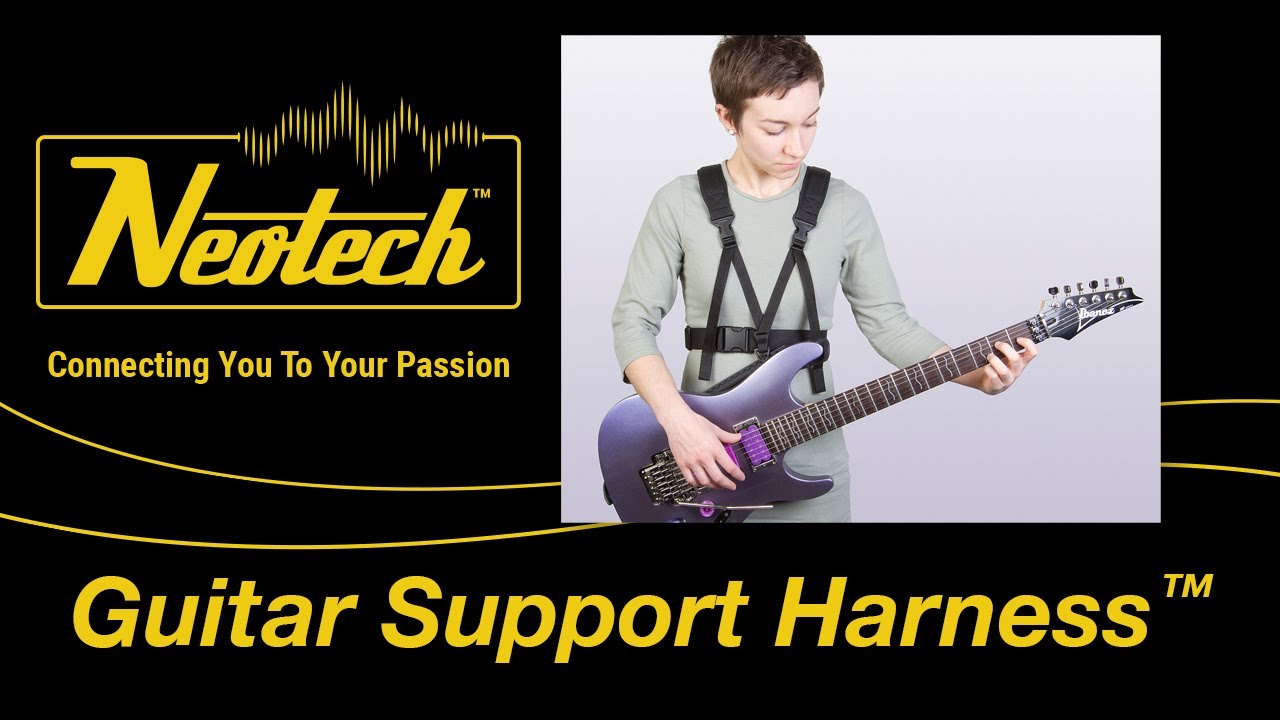 Neotech Guitar Support Harness™ - YouTube