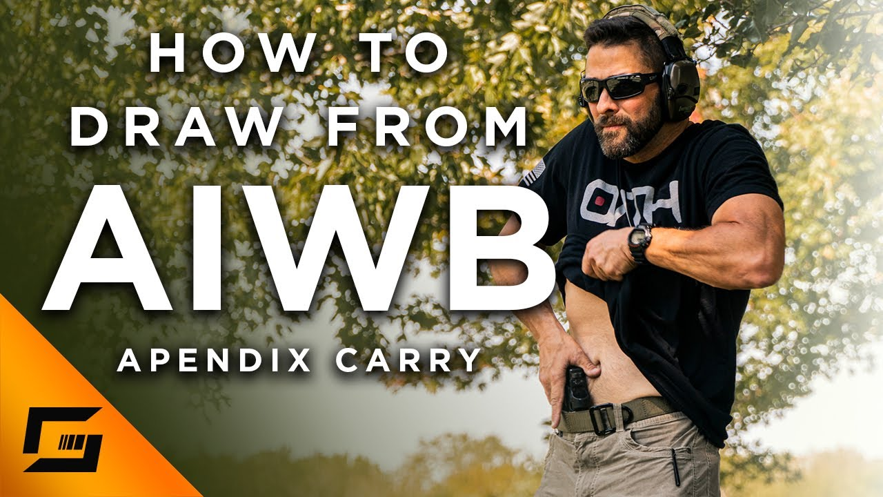 How to draw from the appendix carry position? AIWB