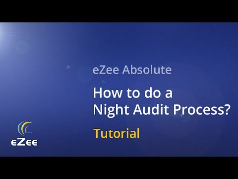 How to Do a Night Audit Process in eZee Absolute Cloud Hotel Management Software