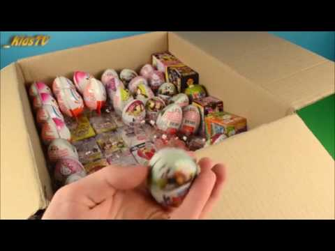 Свинка пеппа киндер сюрприз видео на русском