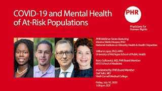 COVID-19 Mental Health Impacts On At-Risk Populations