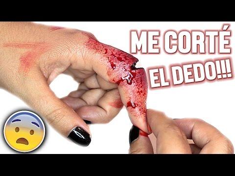 ME CORTÉ EL DEDO!!