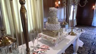 Montaje de Bizcocho de boda en el Hotel Gran Melia Puerto Rico