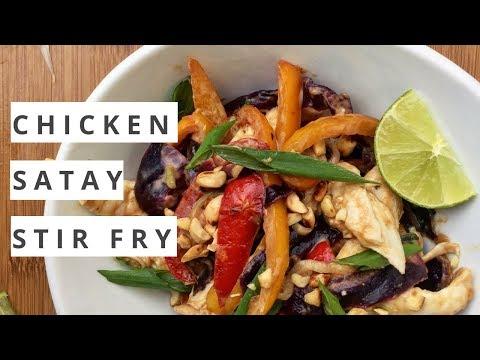Simpler, Healthier Turmeric Chicken Satay