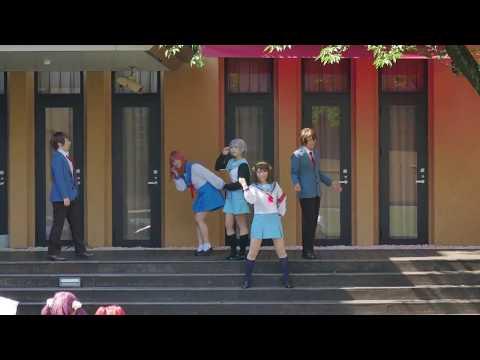 涼宮ハルヒの憂鬱コスドリ in 京都国際マンガミュージアムFRiCT feat猫屋敷