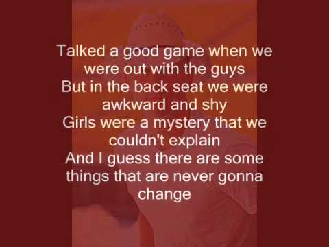 Kenny Chesney - Young (lyrics)