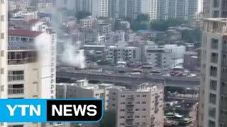 서울 내부순환도로 달리던 승용차 화재...다친 사람 없…