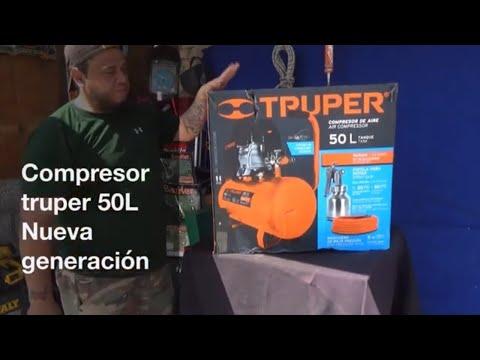 Compresor Truper 50L Nueva Generación 2020 color Naranja