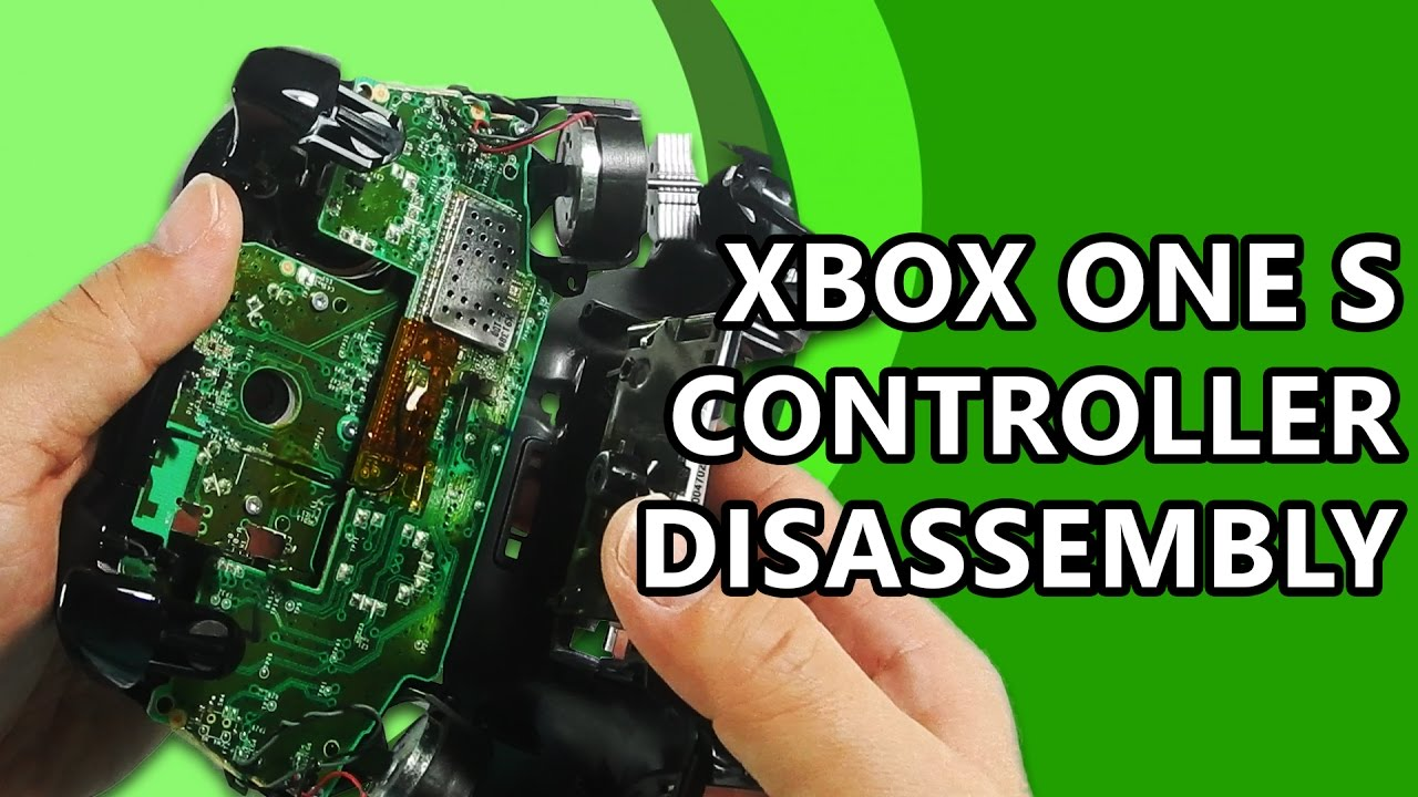 Xbox One S Controller (v3) Review - Teardown - Assembly