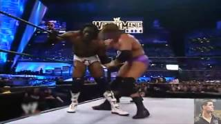 WWE Wrestlemania XIX: Triple H vs Booker T - Highlights