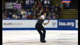小塚崇彦さんの2014年スケートアメリカ ショートプログラム『A Evaristo...