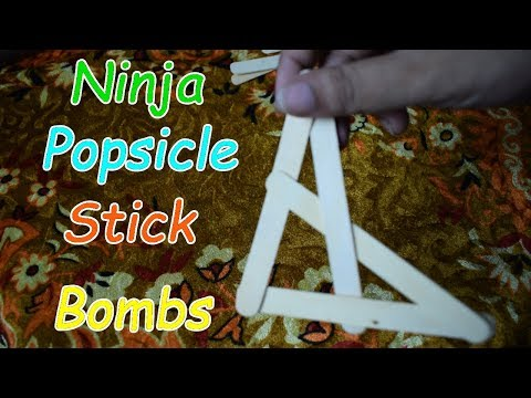 5 Awesome Ways To Make Popsicle Stick Bombs