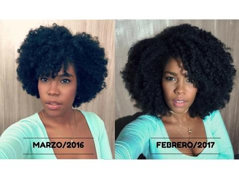 Hacer crecer el pelo rizado