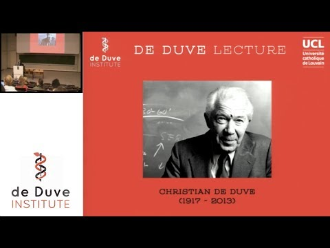 3rd de Duve Lecture - D. Sabatini: mTOR and lysosomes in growth control
