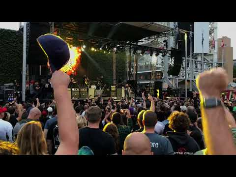 Dropkick Murphys At Petco Park Pt1