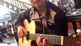 Sunflower by Hoàng Siêu Nhân (Stagg guitar) =)) Product Sol.G