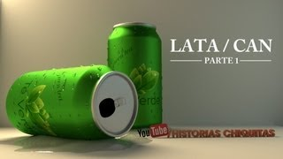 Tutorial 3D Lata de refresco / soda can Blender 2.6 parte 1 (modelado)