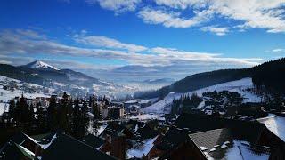 Буковель, Украина 2020 первый день, приезд и обучение в ski school