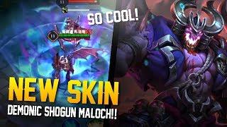Arena of Valor News: NEW MALOCH SKIN!! Demonic Shogun maloch!?