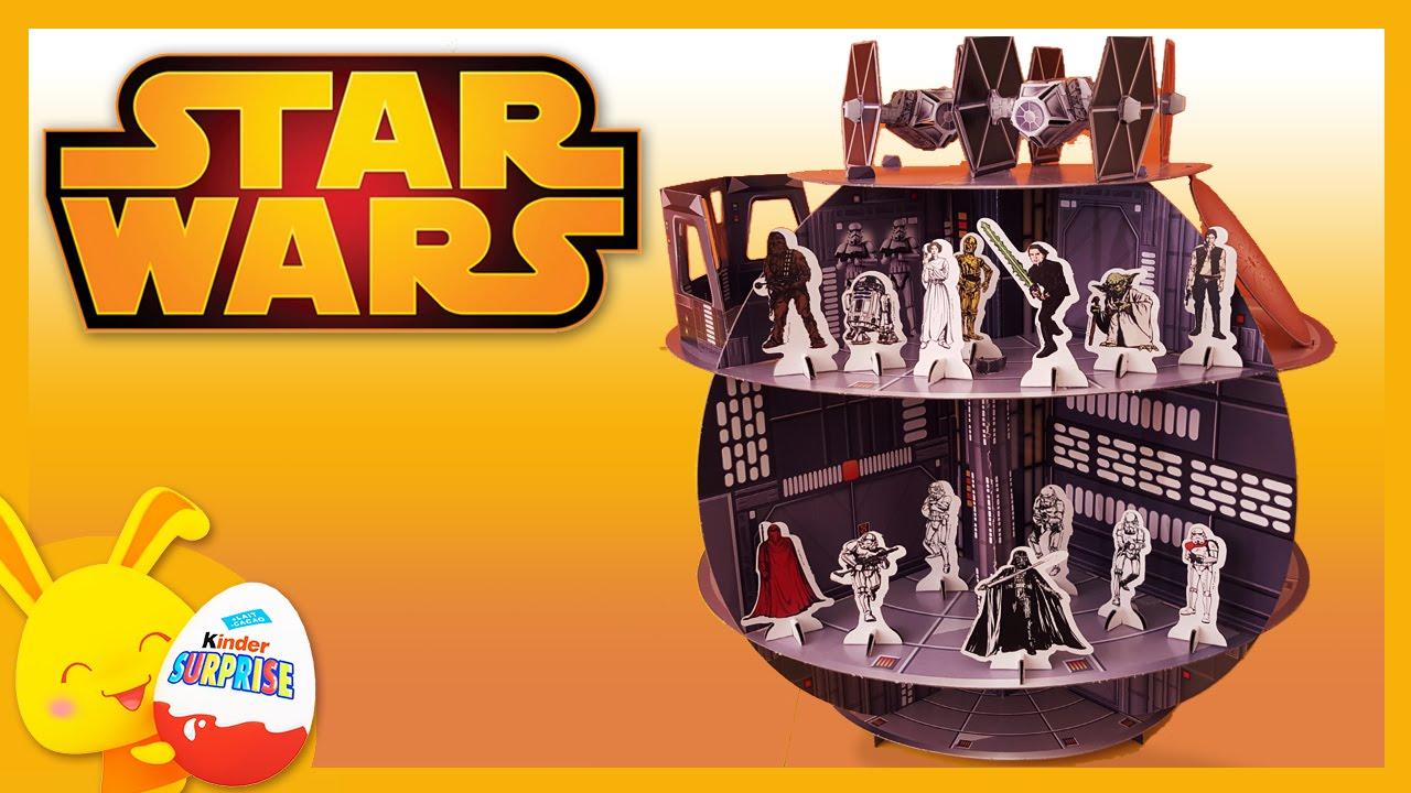 Star wars jouets personnages de star wars et l 39 etoile noire youtube - L etoile noire star wars ...