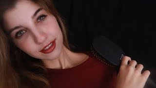 ASMR Tapping, Scratching & Brushing ~
