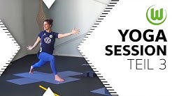Yoga-Session für zu Hause (Teil 3)   VfL Wolfsburg