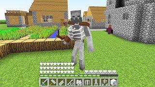 Minecraft  Jugando Como Un Esqueleto Mutante  Minecraft Videos