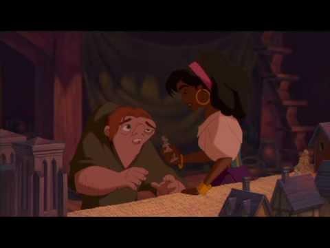 Il gobbo di Notre Dame -- Quasimodo ed Esmeralda a Notre Dame
