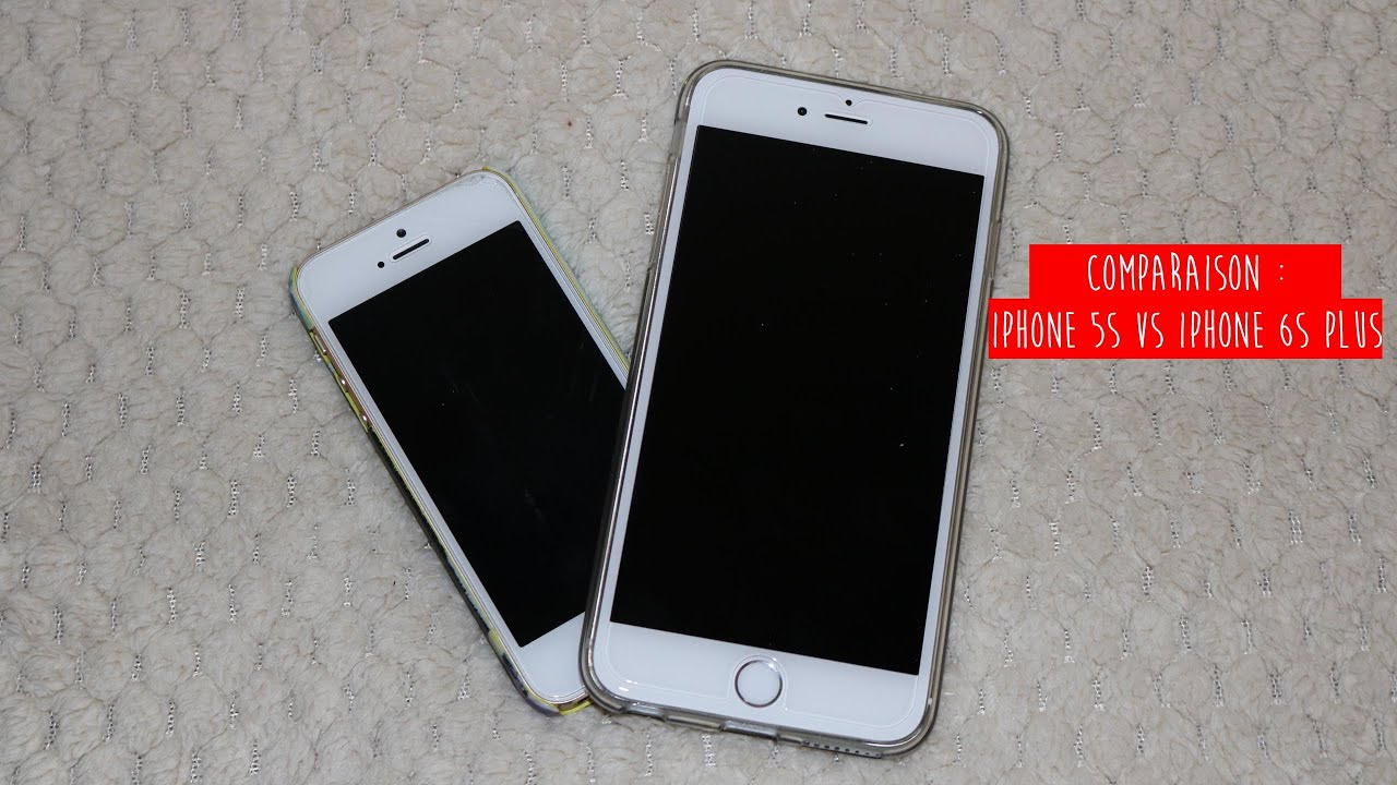 Iphone 5s Vs Iphone 6s Plus