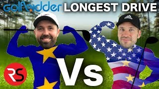 LONGEST DRIVE CHALLENGE....RICK SHIELS Vs PETE FINCH