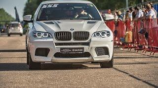 BMW X6M PP-Performance, Mercedes ML63 AMG Evotech & Gorilla Racing (Top 3 fastest SUV)