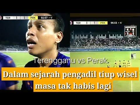KECOH Terengganu Vs Perak 2019 terpaksa main 102 minit| salah pengadil
