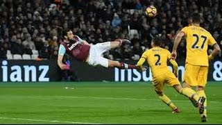 Andy Carroll amazing bicycle kick goal vs Crystal Palace