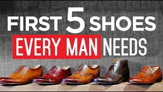 5 BEST Selling Dress Shoes? | MUST OWN Men's Footwear