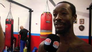 'PLAYTIME'S OVER' - AMERICAN JOHN THOMPSON 'NOT WORRIED' ABOUT LIAM SMITH WORLD TITLE CHALLENGE