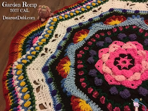 Garden Romp Crochet Along 2017 - Part 1