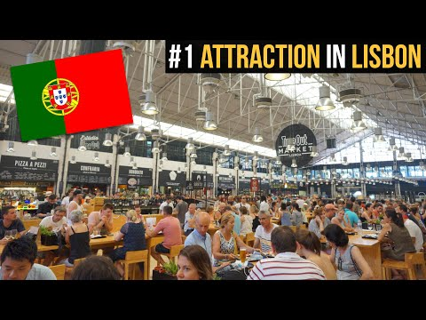 The one place you HAVE to visit in Lisbon (Time Out Market Lisboa) 🇵🇹