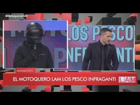 El motoquero de LAM pescó in fraganti a Fede Bal y Laurita Fernández