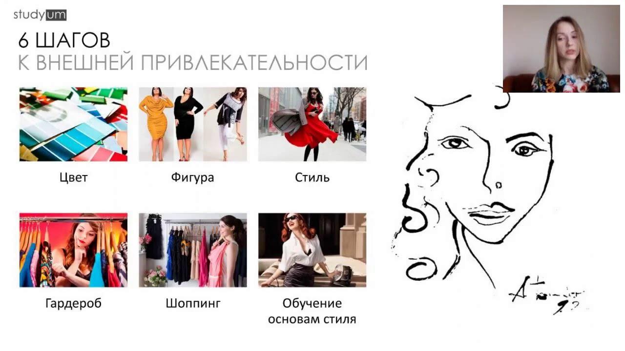 6 шагов к внешней привлекательности (Наталья Плотникова) | Запись бесплатного вебинара