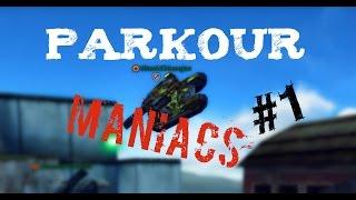 TANKI ONLINE / Parkour Maniacs #1