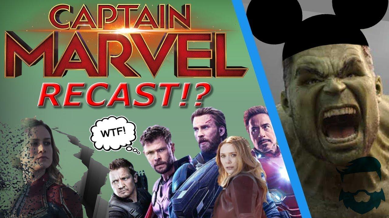 Disney & Avengers Cast UPSET W/ Brie Larson & Captain Marvel! Recast  Incoming?