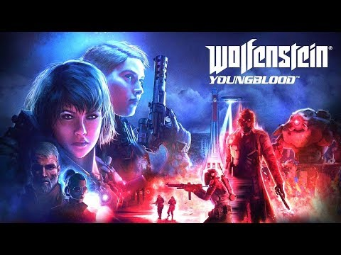 WOLFENSTEIN: YOUNGBLOOD All Cutscenes (Xbox One X Enhanced) Game Movie 1080p 60FPS