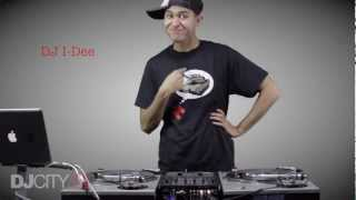 DJ I-dee Turntable Routine
