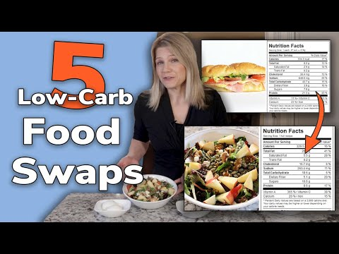 5 Low Carb Food Swaps Cut 100+ Carbs a Day